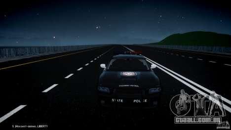 Dodge Charger SRT8 Police Cruiser para GTA 4 motor