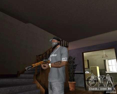 M511 espingarda para GTA San Andreas segunda tela