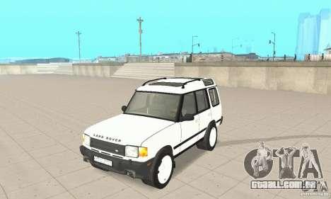Land Rover Discovery 2 para GTA San Andreas