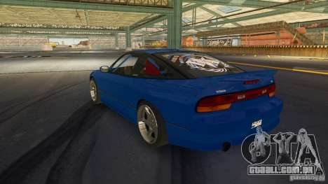 Nissan 240SX Drift para GTA 4 esquerda vista