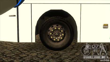 Hino New Travego RK1 para GTA San Andreas vista interior