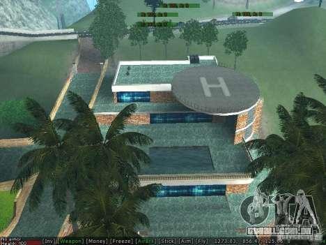 Villa Nova Med-Dogg para GTA San Andreas quinto tela
