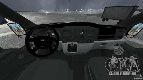 Ford Transit Joen Loka [ELS] para GTA 4 vista de volta