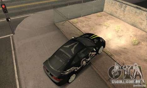 Acura RSX New para o motor de GTA San Andreas