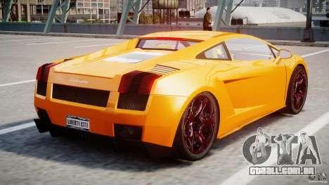 Lamborghini Gallardo Superleggera para GTA 4 vista direita