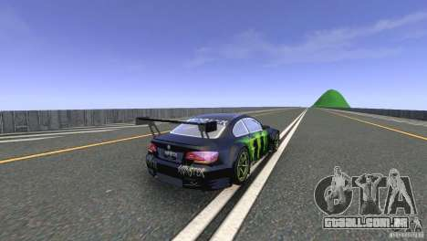 BMW M3 Monster Energy para GTA 4 vista direita