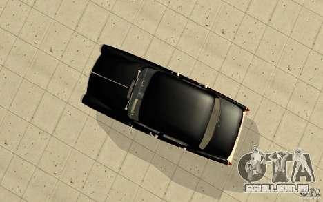 Black Lightning para GTA San Andreas por diante tela
