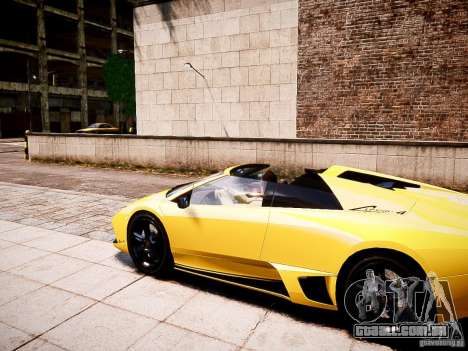 Lamborghini Murcielago LP650-4 Roadster para GTA 4 esquerda vista