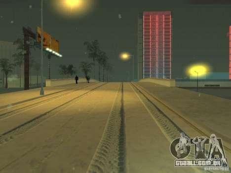 Neve v 2.0 para GTA San Andreas por diante tela