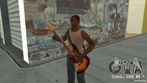 Músicas do filme na guitarra para GTA San Andreas décimo tela