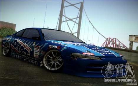 Nissa Silvia S15 Toyo para GTA San Andreas