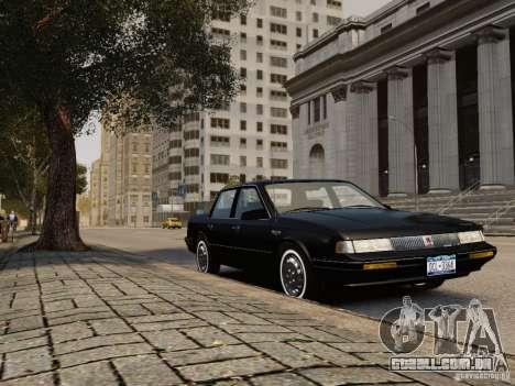 Oldsmobile Cutlass Ciera 1993 para GTA 4 traseira esquerda vista
