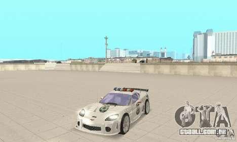 Chevrolet Corvette C6 polícia Sargento Cruz NFSM para GTA San Andreas