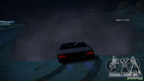 Novos efeitos 1.0 para GTA San Andreas terceira tela