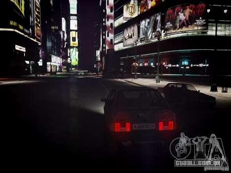 VAZ 21093i para GTA 4 vista de volta