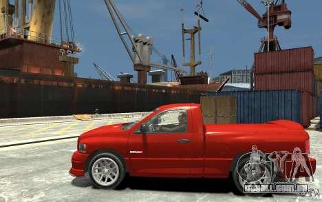 Dodge Ram SRT-10 v.1.0 para GTA 4 esquerda vista