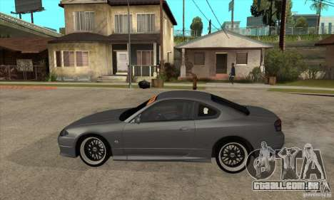 Nissan Silvia S15 JDM para GTA San Andreas esquerda vista