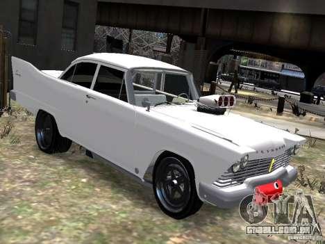 Plymouth Savoy 57 para GTA 4 vista direita