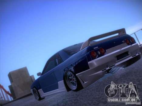 Nissan Skyline R32 Drift Tuning para GTA San Andreas esquerda vista
