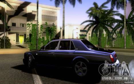 Bentley Arnage para GTA San Andreas esquerda vista
