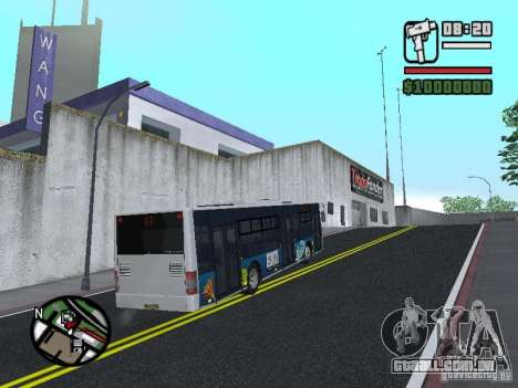 CityLAZ 12 LF para GTA San Andreas vista direita