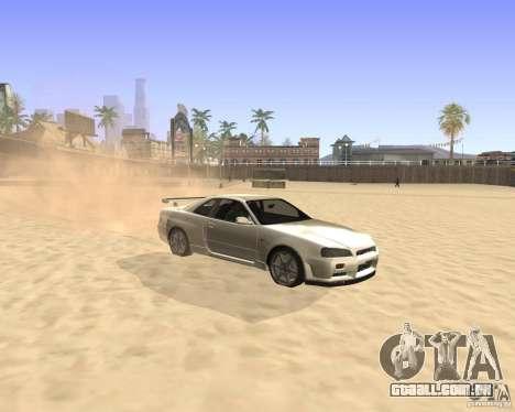 ENBSeries By Krivaseef para GTA San Andreas segunda tela