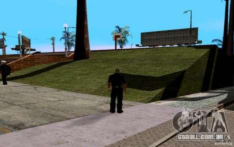 A nova quadra de basquete para GTA San Andreas terceira tela
