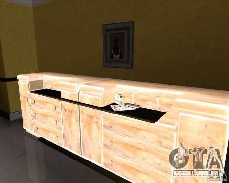 New Interior of CJs House para GTA San Andreas sexta tela