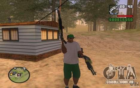 Double weapons para GTA San Andreas terceira tela