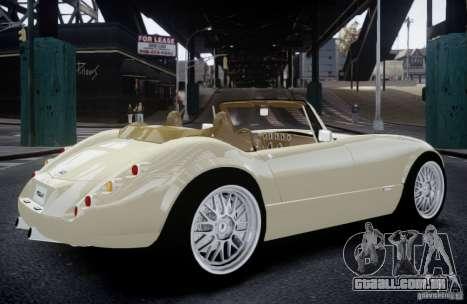 Wiesmann MF3 Roadster Final para GTA 4 esquerda vista