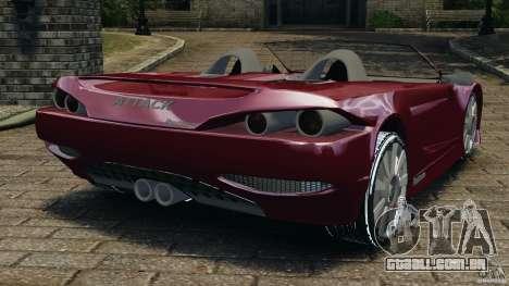 K-1 Attack Roadster v2.0 para GTA 4 traseira esquerda vista