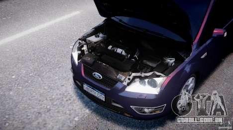 Ford Focus ST MkII 2005 para GTA 4 vista interior