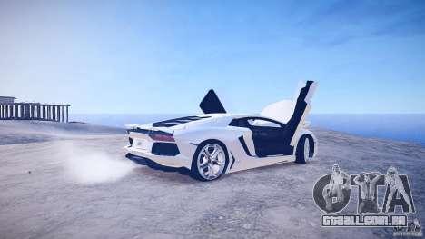 Lamborghini Aventador LP700-4 v1.0 para GTA 4 vista lateral