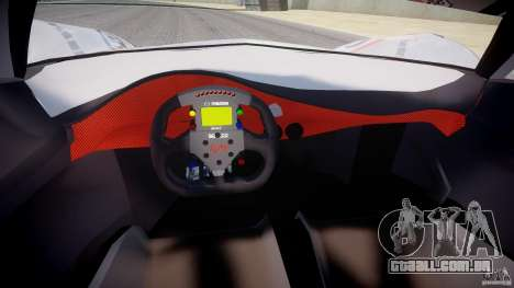 Mazda Furai Concept 2008 para GTA 4 vista de volta