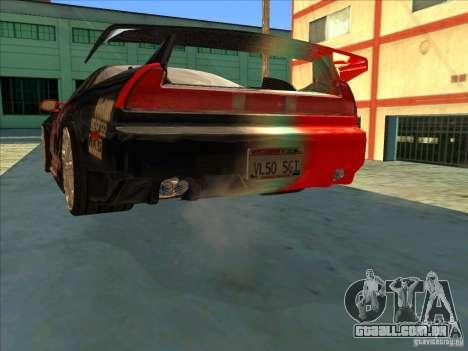 Acura NSX 1991 Tunable para o motor de GTA San Andreas