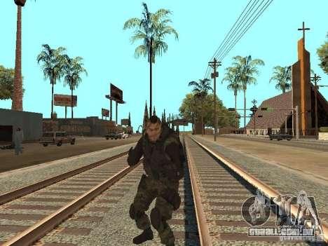 Captain MacTavish para GTA San Andreas sexta tela