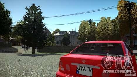 Toyota Aristo para GTA 4 vista interior