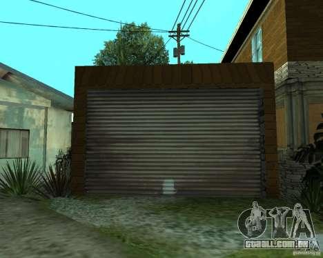 CJâ casa nova para GTA San Andreas sexta tela