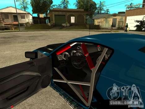 Ford Mustang Drag King para GTA San Andreas vista traseira