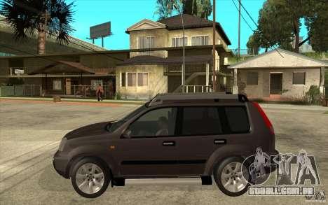 Nissan X-Trail 2001-2007 para GTA San Andreas esquerda vista