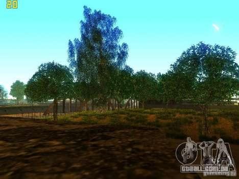 Vegetação perfeita v. 2 para GTA San Andreas