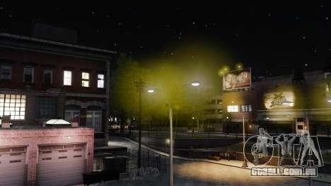 Luzes de luz amarelas para GTA 4 terceira tela