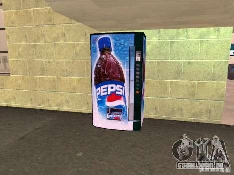 Máquinas de venda automática PEPSI para GTA San Andreas