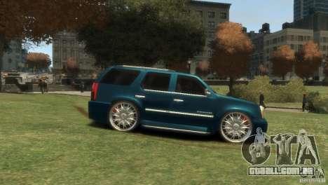 Cadillac Escalade Dub para GTA 4 vista direita