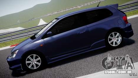 Honda Civic Type-R para GTA 4 esquerda vista