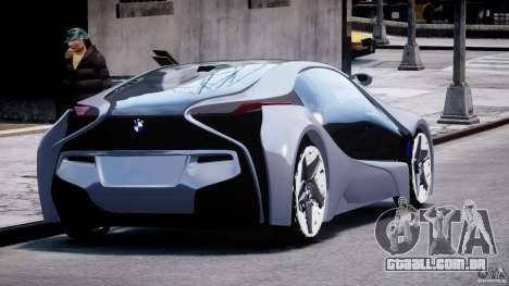 BMW Vision Efficient Dynamics v1.1 para GTA 4 vista lateral