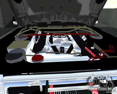 Toyota Surf v2.1 para GTA San Andreas vista superior