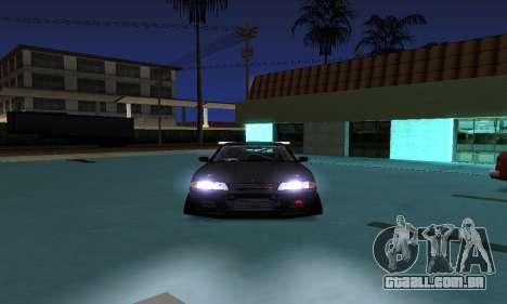 Nissan Skyline R32 GT-R para GTA San Andreas traseira esquerda vista