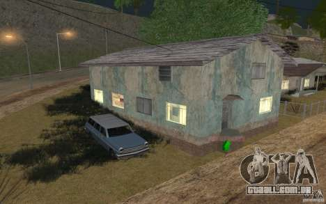 A casa de verde para GTA San Andreas