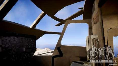 MH-53 Pavelow v1.1 para GTA 4 vista de volta